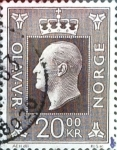Sellos de Europa - Noruega -  Intercambio 0,20 usd 20 k. 1969