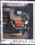 Sellos de Europa - Noruega -  Intercambio ma2s 0,20 usd 1,50 k. 1981