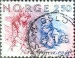 Sellos de Europa - Noruega -  Intercambio 0,20 usd 2,50 k. 1984