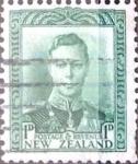 Stamps New Zealand -  Intercambio 0,20 usd 1 p. 1941