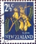Sellos de Oceania - Nueva Zelanda -  Intercambio 0,20 usd 2,5 cent. 1967