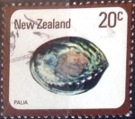 Stamps New Zealand -  Intercambio 0,20 usd 20 cent. 1978
