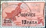 Sellos del Mundo : Asia : Pakistán : Intercambio 0,20 usd 13 p. Sobre 2 A. 1961