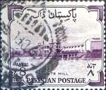 Stamps Pakistan -  Intercambio 0,20 usd 8 a. 1955