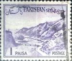 Sellos del Mundo : Asia : Pakistán : Intercambio 0,20 usd 1 p. 1961