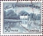 Stamps Pakistan -  50 p. 1962