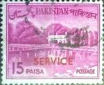 Sellos del Mundo : Asia : Pakistán : Intercambio 0,20 usd 15 p. 1964