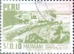 Stamps Peru -  Intercambio 0,20 usd 10 cent. 1953