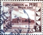 Stamps Peru -  Intercambio dm1g3 0,20 usd 5 cent. 1938