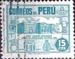 Sellos del Mundo : America : Perú :  15 cent. 1951