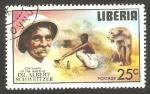 Stamps Liberia -  Centº del nacimiento del doctor Albert Schweitzer, leona