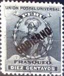 Stamps : America : Peru :  10 cent. 1901