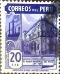 Stamps : America : Peru :  Intercambio 0,20 usd 20 cent. 1949