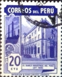 Stamps : America : Peru :  20 cent. 1949