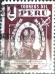 Stamps : America : Peru :  1s. 1945