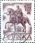 Stamps : Europe : Poland :  1,55 z. 1956