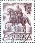 Sellos del Mundo : Europa : Polonia : 1,55 z. 1956