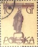 Stamps Poland -  Intercambio cxrf 0,20 usd 10 g. 1955