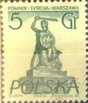 Stamps Poland -  Intercambio 0,20 usd 5 g. 1955