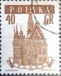 Stamps Poland -  Intercambio 0,20 usd 40 G. 1958