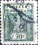 Sellos de Europa - Polonia -  Intercambio 0,20 usd 50 f. 1919