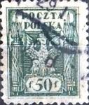 Stamps : Europe : Poland :  Intercambio 0,20 usd 50 f. 1919