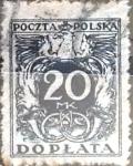 Sellos del Mundo : Europa : Polonia : 20 m. 1941