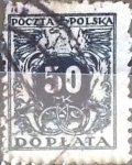 Stamps : Europe : Poland :  50 m. 1941