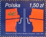 Sellos del Mundo : Europa : Polonia : Intercambio 0,20 usd 1,50 z. 1979
