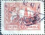 Stamps Poland -  Intercambio 0,20 usd 15 g. 1925