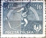 Stamps Poland -  Intercambio 0,20 usd 10 m. 1921