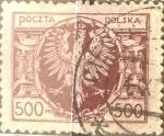 Sellos del Mundo : Europa : Polonia : Intercambio 0,20 usd 500 m. 1923