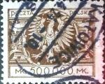 Sellos de Europa - Polonia -  Intercambio 2,25 usd 500000 m. 1925
