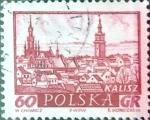 Sellos de Europa - Polonia -  Intercambio 0,20 usd 60 g. 1960