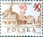 Sellos del Mundo : Europa : Polonia : 90 sobre 40 g. 1972