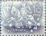 Stamps : Europe : Portugal :  Intercambio 0,20 usd 10 cent. 1953