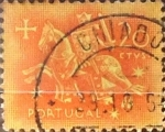 Stamps : Europe : Portugal :  Intercambio 0,20 usd 20 cent. 1953