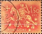 Stamps : Europe : Portugal :  Intercambio 0,20 usd 1,50 e. 1953