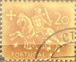 Sellos de Europa - Portugal -  Intercambio 0,30 usd 20 e. 1953