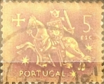 Sellos de Europa - Portugal -  Intercambio 0,20 usd 5 e. 1953