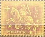 Stamps Portugal -  Intercambio 0,20 usd 5 e. 1953