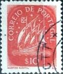 Stamps Portugal -  Intercambio 0,20 usd 10 cent. 1943