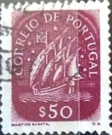 Stamps : Europe : Portugal :  Intercambio 0,20 usd 50 cent. 1943