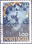 Stamps : Europe : Portugal :  Intercambio agm2 0,20 usd 1 e. 1973