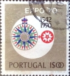 Stamps : Europe : Portugal :  Intercambio 0,20 usd 1 e. 1970