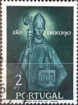 Stamps : Europe : Portugal :  Intercambio 0,35 usd 2 e. 1958