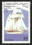 Stamps : Africa : Morocco :  Velero