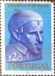 Stamps : Europe : Portugal :  Intercambio 0,20 usd 20 cent. 1963
