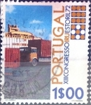 Stamps : Europe : Portugal :  Intercambio 0,20 usd 1 e. 1972