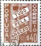 Stamps : Europe : Portugal :  Intercambio 0,20 usd 40 cent. 1935